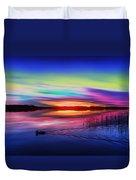 Duck Sunset Duvet Cover