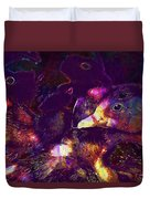 Ducklings Young Cute Animals Duck  Duvet Cover