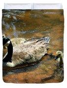 Duck Family Duvet Cover