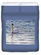 Duddingston Swan 1 Duvet Cover