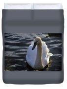Duddingston Swan 13 Duvet Cover