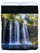 Duden Waterfall - Turkey Duvet Cover