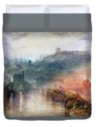 Dudley Worcester Duvet Cover by Joseph Mallord William Turner