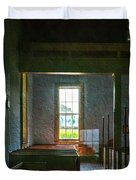 Dudley's Chapel Window - Painting Effect Duvet Cover