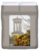Dugald Stewart Monument Duvet Cover