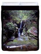 Duggers Creek Falls Duvet Cover