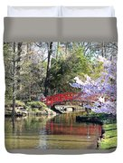Duke Garden Spring Bridge Duvet Cover