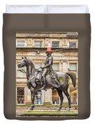 Duke Of Wellington Statue Duvet Cover