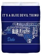 Duke University Fight Song Products Duvet Cover