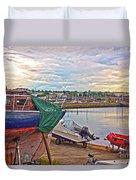 Dun Laoghaire 17 Duvet Cover