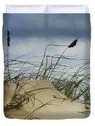 Dune And Beach Grass Duvet Cover