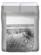 Dune - Black And White Duvet Cover