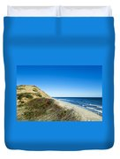 Dune Cliffs And Beach Duvet Cover