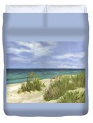 Dune Grasses Duvet Cover