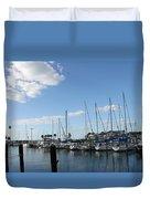 Dunedin Marina I Duvet Cover