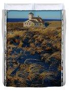 Dunes And Beach House Duvet Cover
