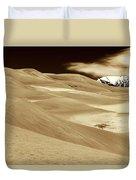 Dunes And Peak Duvet Cover