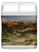 Dunes At Sunrise Duvet Cover