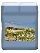 Dunes At Tybee Island Duvet Cover