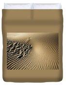 Dunes Footprints Duvet Cover
