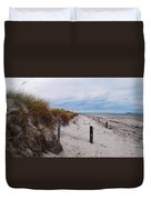 Dunes On A Blustery Day Duvet Cover
