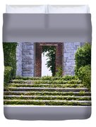 Dungeness Front Steps  Duvet Cover
