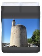 Dungeon In Aigues Morte Duvet Cover