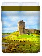 Dunguaire Castle Duvet Cover