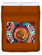 Dunkin Ice Coffee 19 Duvet Cover