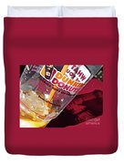 Dunkin Ice Coffee 29 Duvet Cover