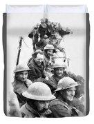 Dunkirk By John Springfield Duvet Cover
