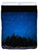 Dunks Point Star Trail Duvet Cover