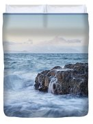 Dunure Beach Duvet Cover