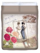 Duo For Piano And Violin Duvet Cover