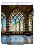 Duomo Di Amalfi Duvet Cover
