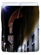 Duomo In The Dark Duvet Cover