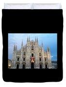 Duomo - Milan -italy Duvet Cover