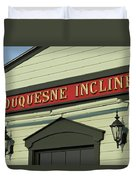 Duquesne Incline Duvet Cover
