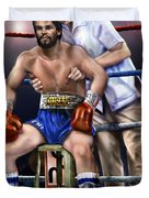 Duran Hands Of Stone 1a Duvet Cover
