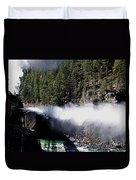 Durango Silverton Blowing Off Steam Duvet Cover