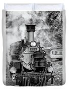 Durango Silverton Train Engine Duvet Cover