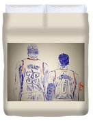 Durant And Westbrook Duvet Cover