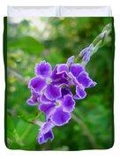 Duranta Flower 2 Duvet Cover