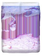 During The Snow Fall 35 Duvet Cover