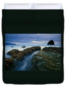 Dusk At Kiwanda  Duvet Cover