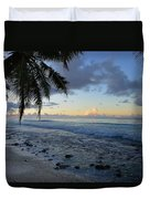 Dusk Beach Duvet Cover