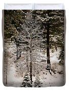Dusk In The Sierras Duvet Cover