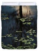 Dusk In The Swamp Duvet Cover
