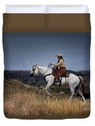Dusk Ride Duvet Cover