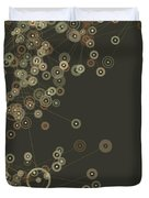 Dust Digital Branch Pattern Duvet Cover